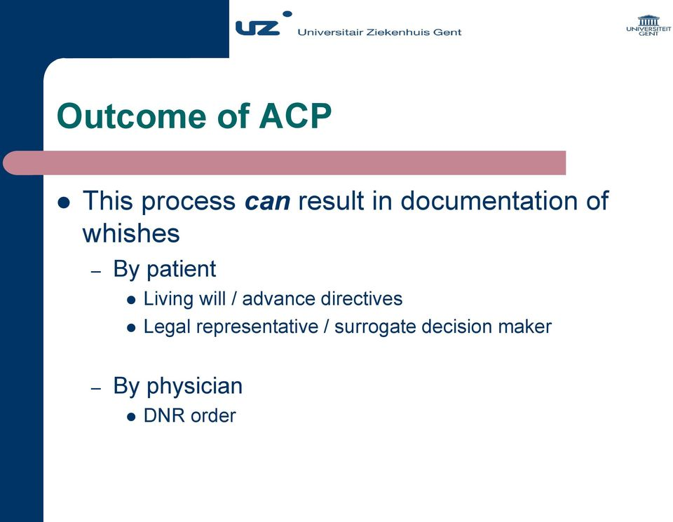 will / advance directives Legal