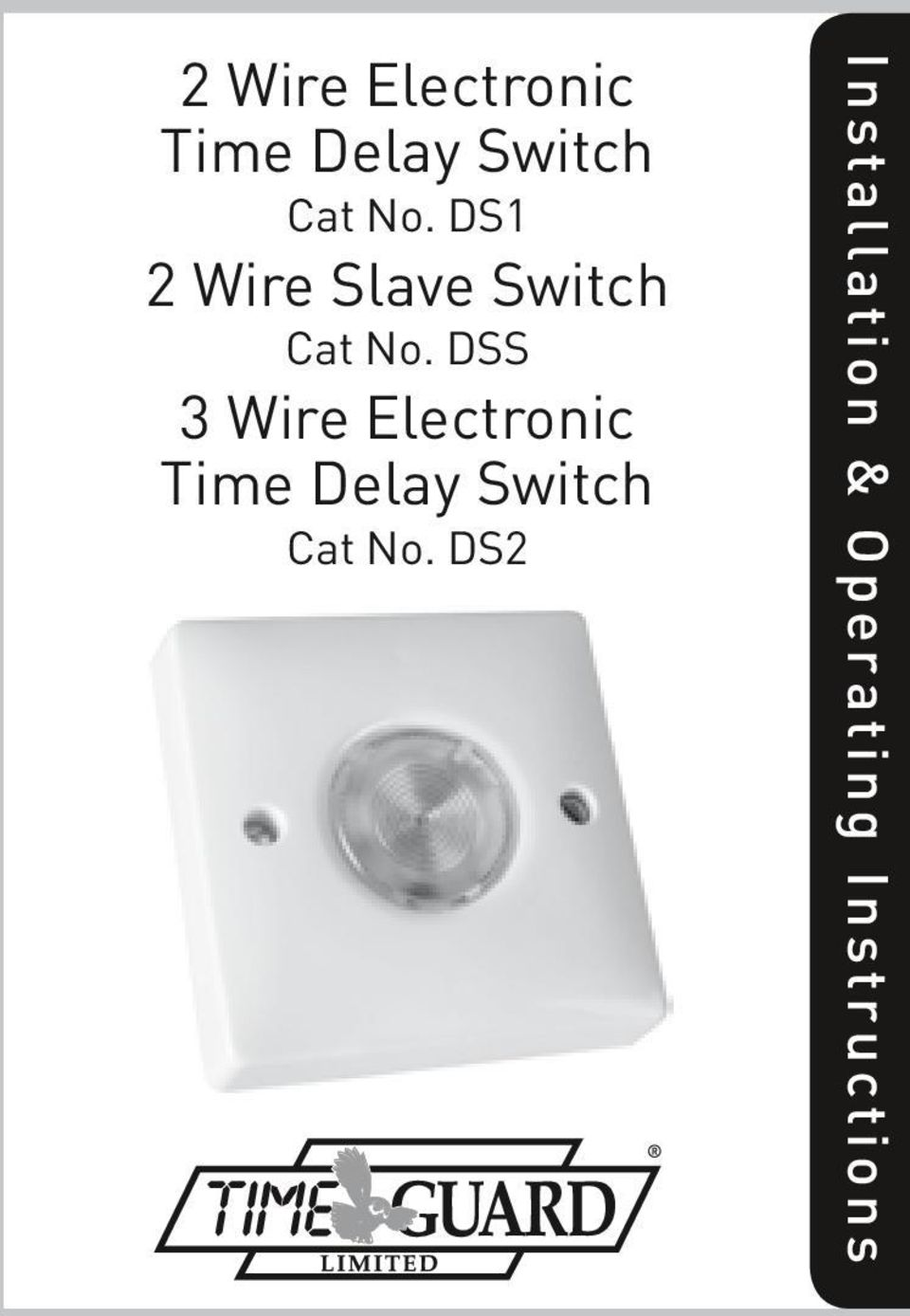 DSS 3 Wire Electronic Time Delay Switch