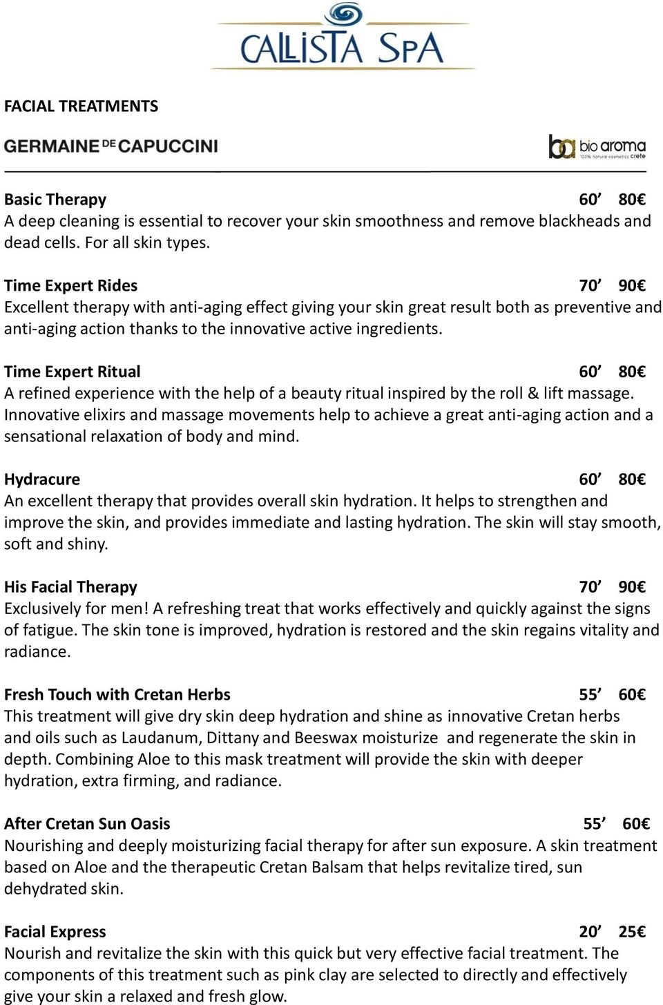 Time Expert Ritual 60 80 A refined experience with the help of a beauty ritual inspired by the roll & lift massage.
