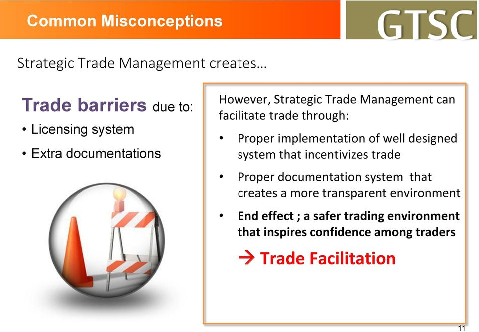 well designed system that incentivizes trade Proper documentation system that creates a more transparent