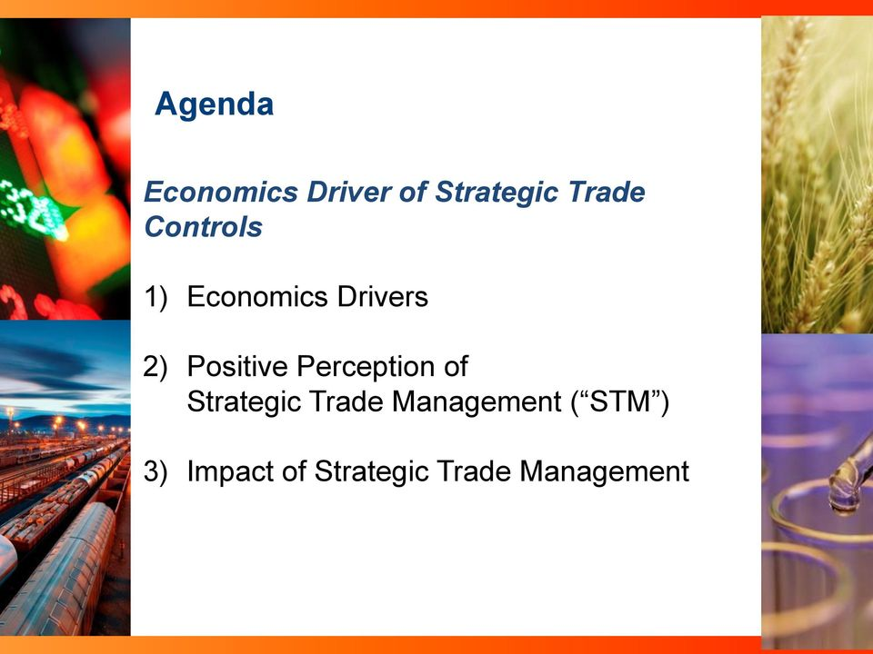 Perception of Strategic Trade Management (