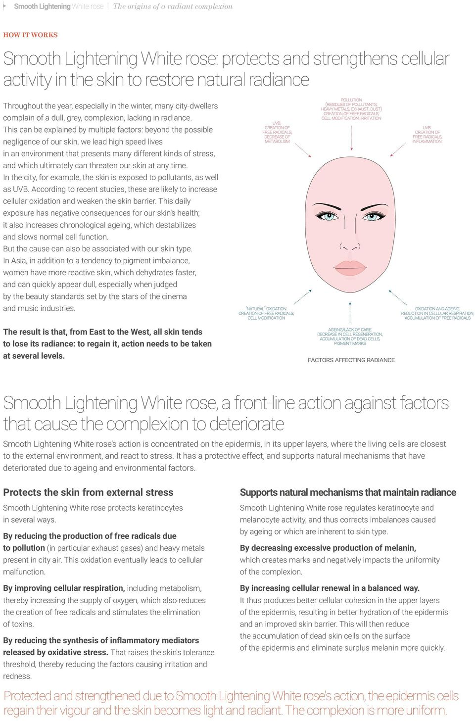 This can be explained by multiple factors: beyond the possible negligence of our skin, we lead high speed lives in an environment that presents many different kinds of stress, and which ultimately