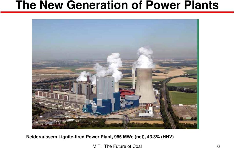 Lignite-fired Power
