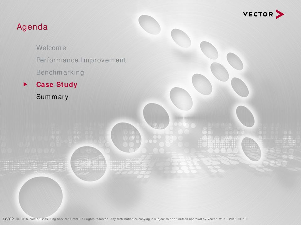 Vector Consulting Services GmbH. All rights reserved.