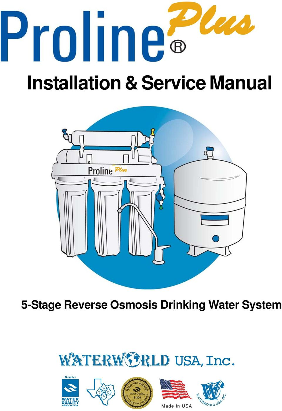Rplus Installation Amp Service Manual 5 Stage Reverse