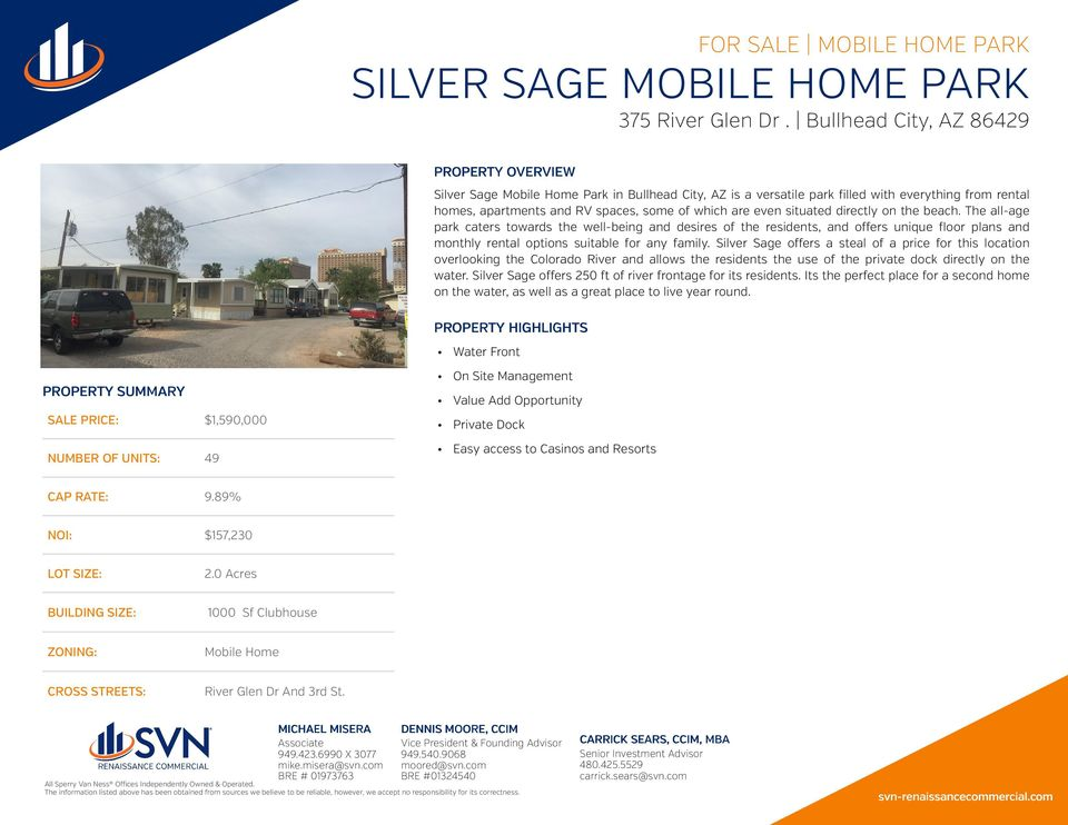 Silver Sage offers a steal of a price for this location overlooking the Colorado River and allows the residents the use of the private dock directly on the water.