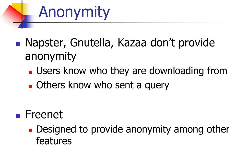 downloading from Others know who sent a query