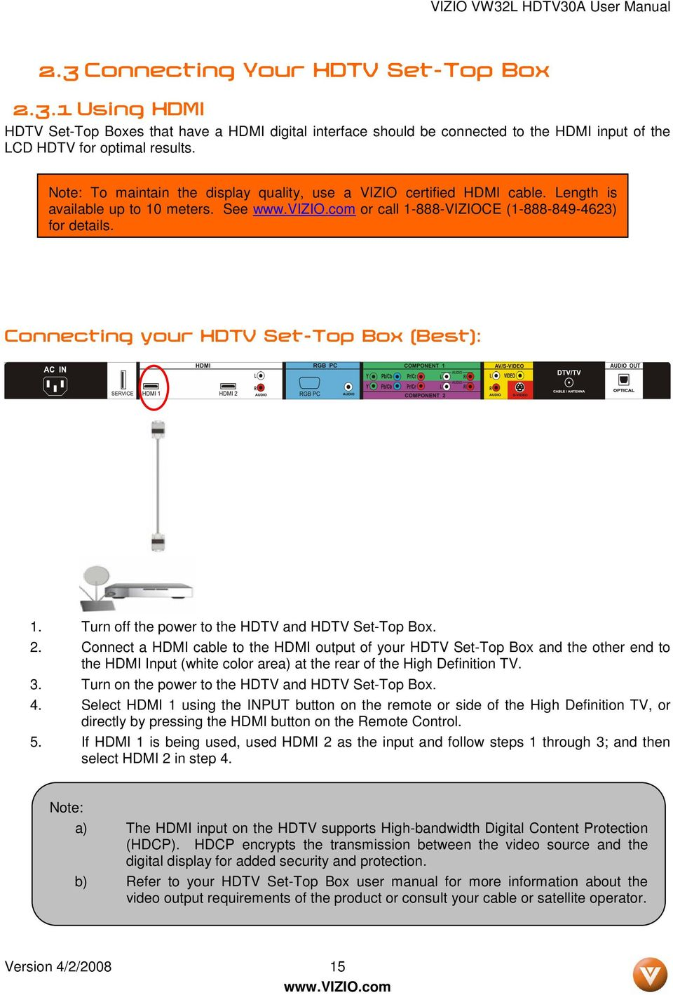Modern Your Hdtv Does Not Support Hdcp Charter Ensign - Electrical ...