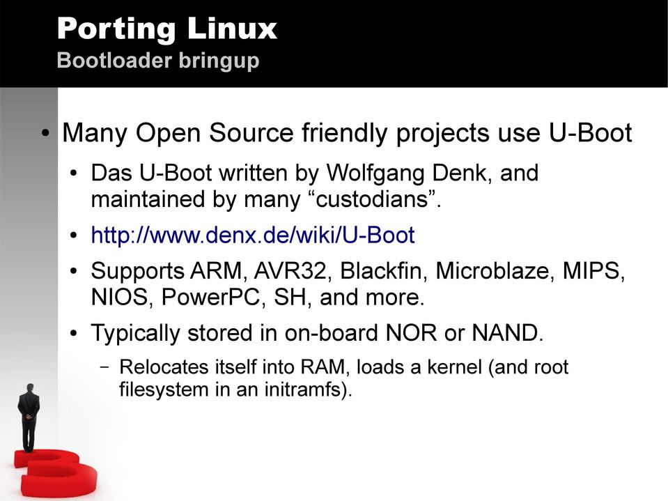 Porting Linux Embedded Linux Conference (Europe) - PDF