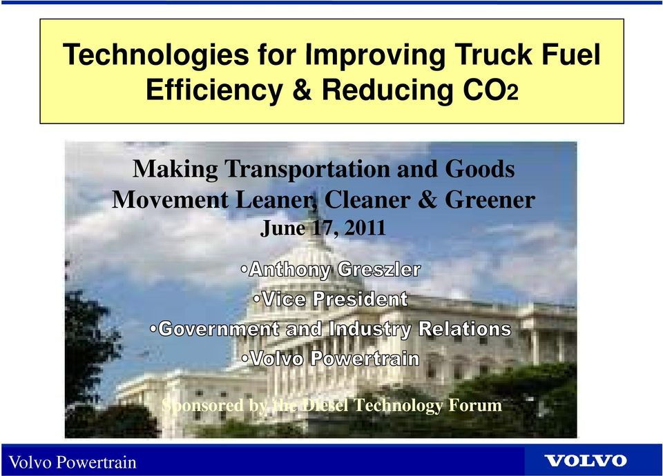 Transportation and Goods Movement tleaner,