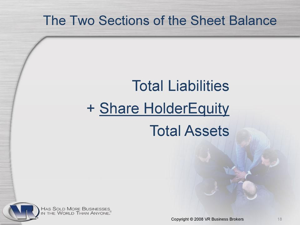 Share HolderEquity Total Assets