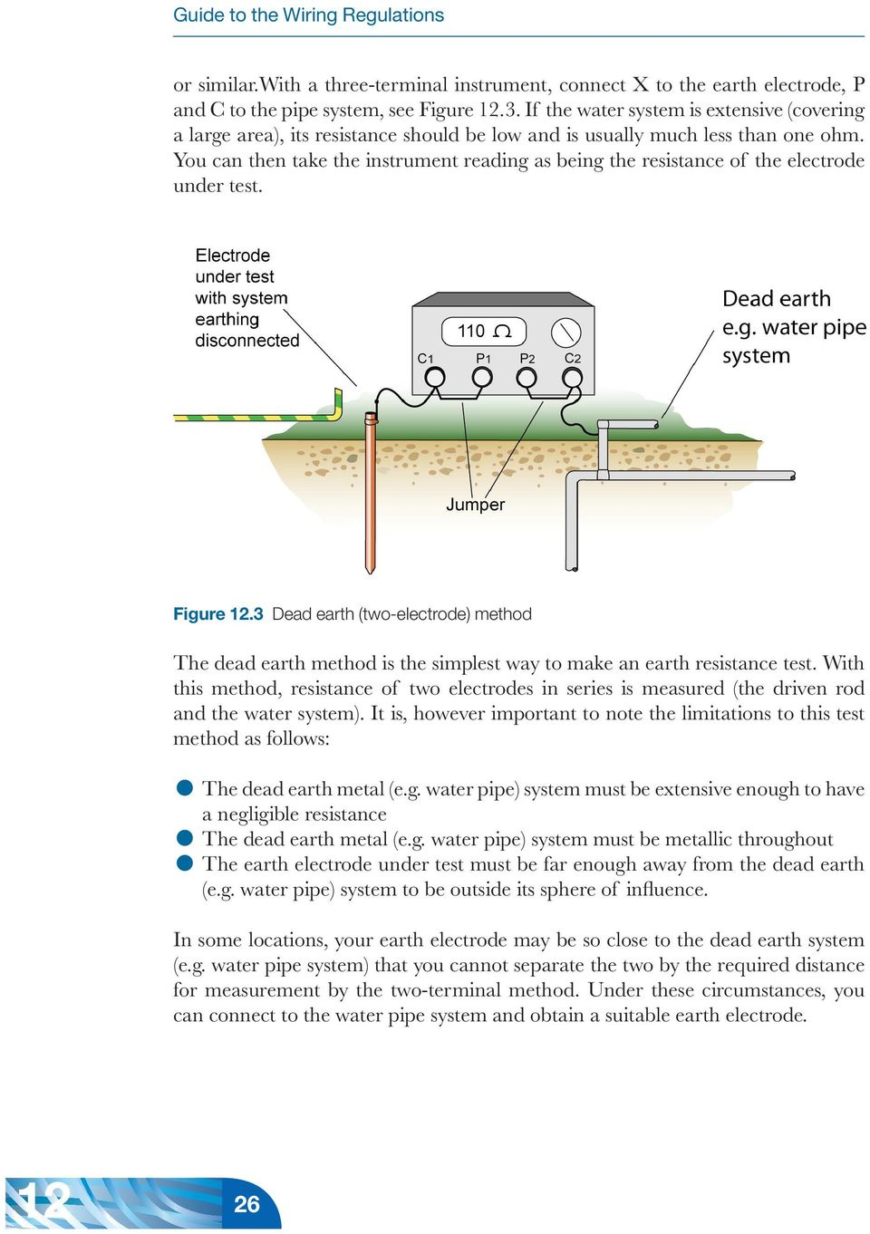 12 appendix 12 earth electrodes and earth electrode pdf you can then take the instrument reading as being the resistance of the electrode under test greentooth Choice Image