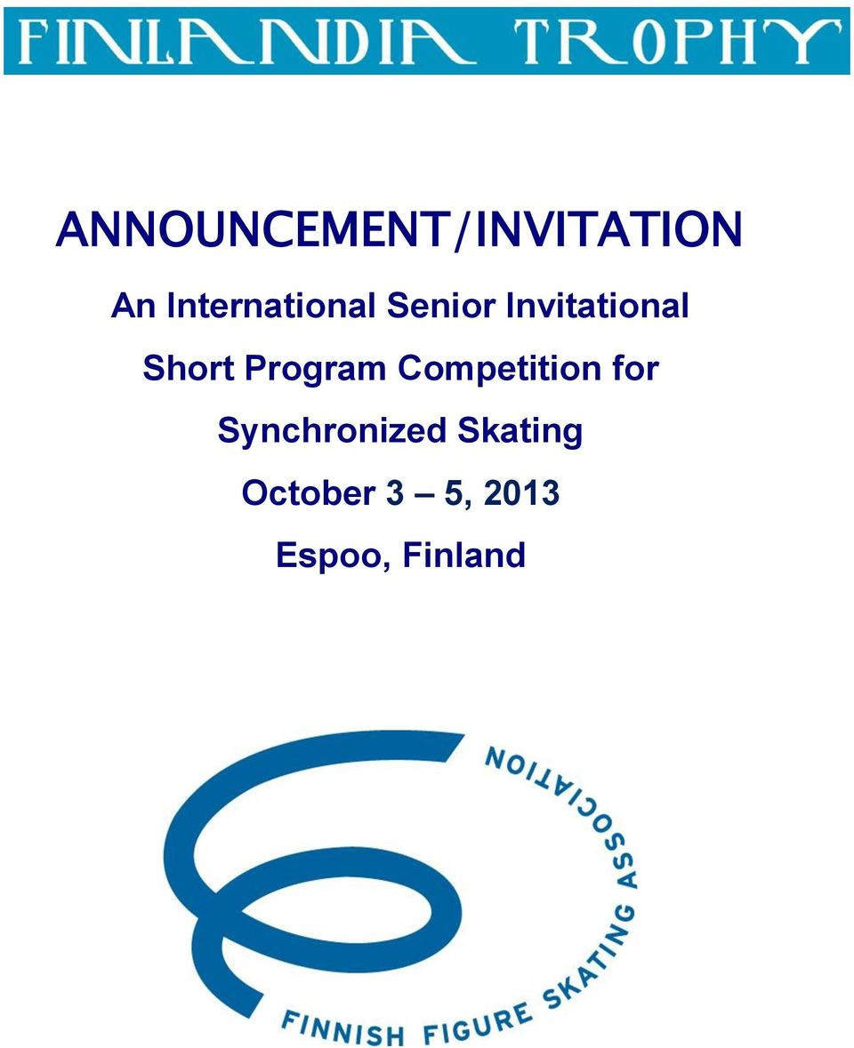Short Program Competition for