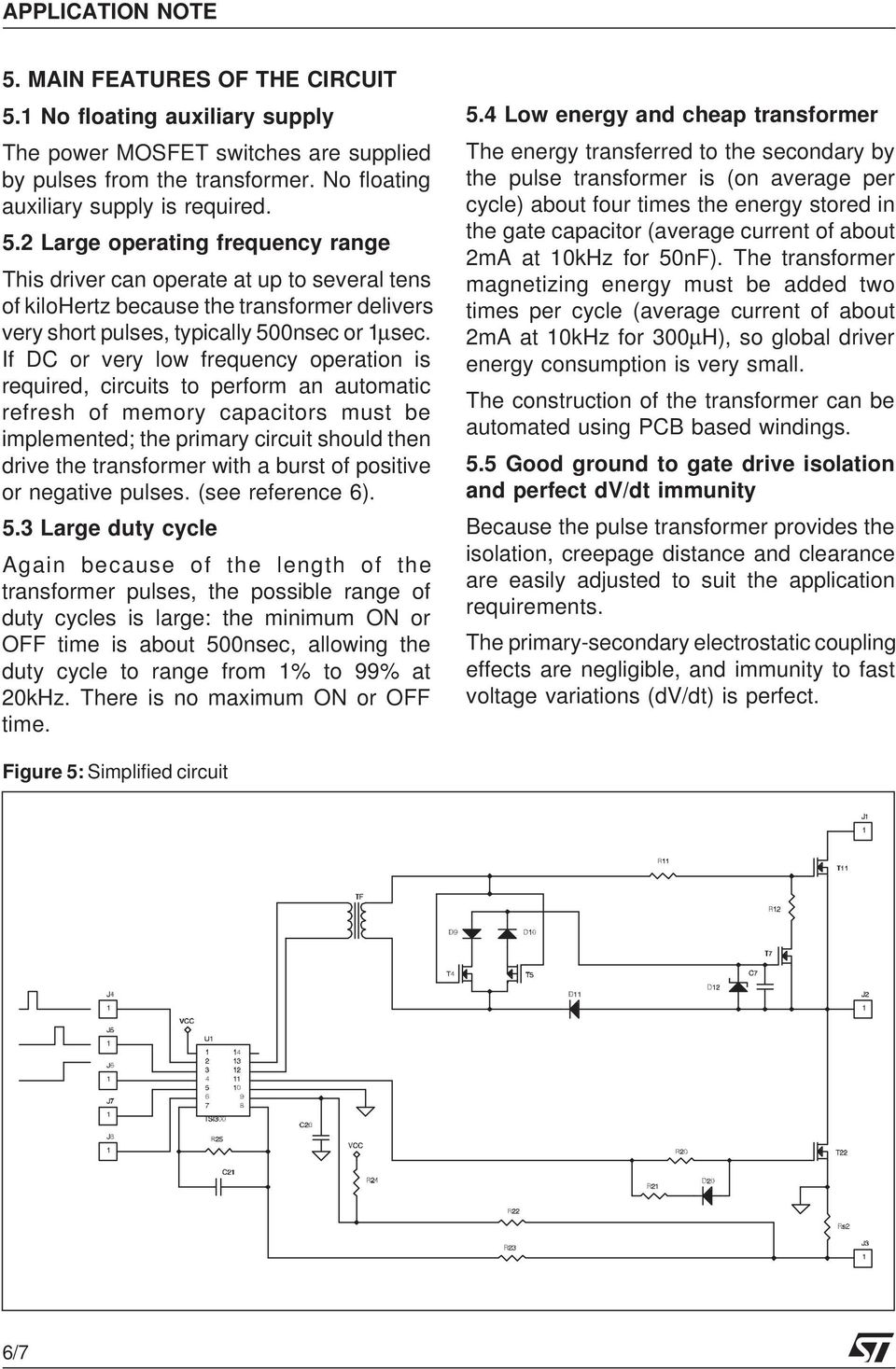 An Isolated Gate Drive For Power Mosfets And Igbts Pdf Output Stage Circuits Pulse Shapes Drivers 2 Large Operating Frequency Range This Driver Can Operate At Up To Several Tens Of Kilohertz