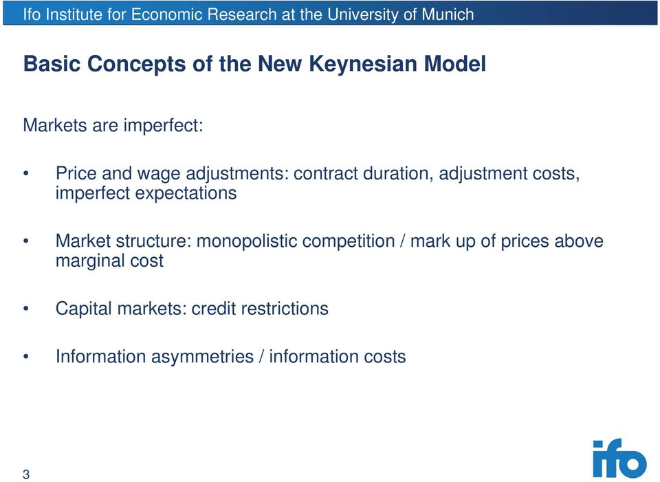 structure: monopolistic competition / mark up of prices above marginal cost