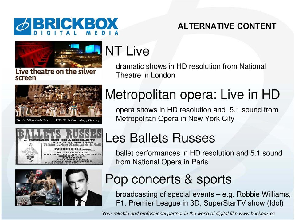 1 sound from Metropolitan Opera in New York City Les Ballets Russes ballet performances in HD resolution