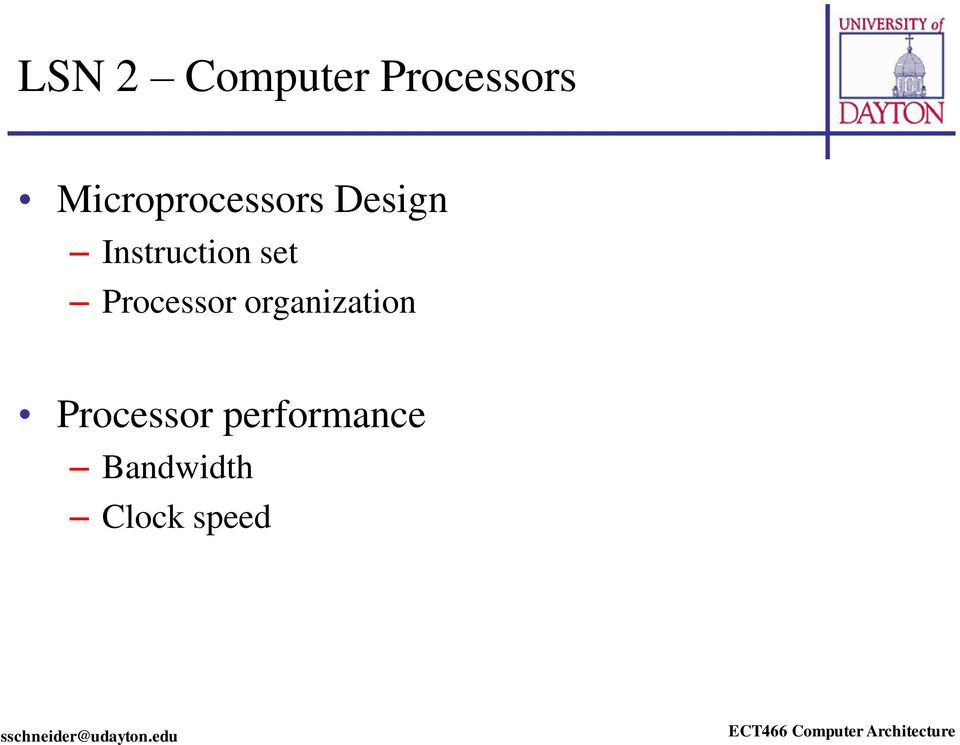 Instruction set Processor