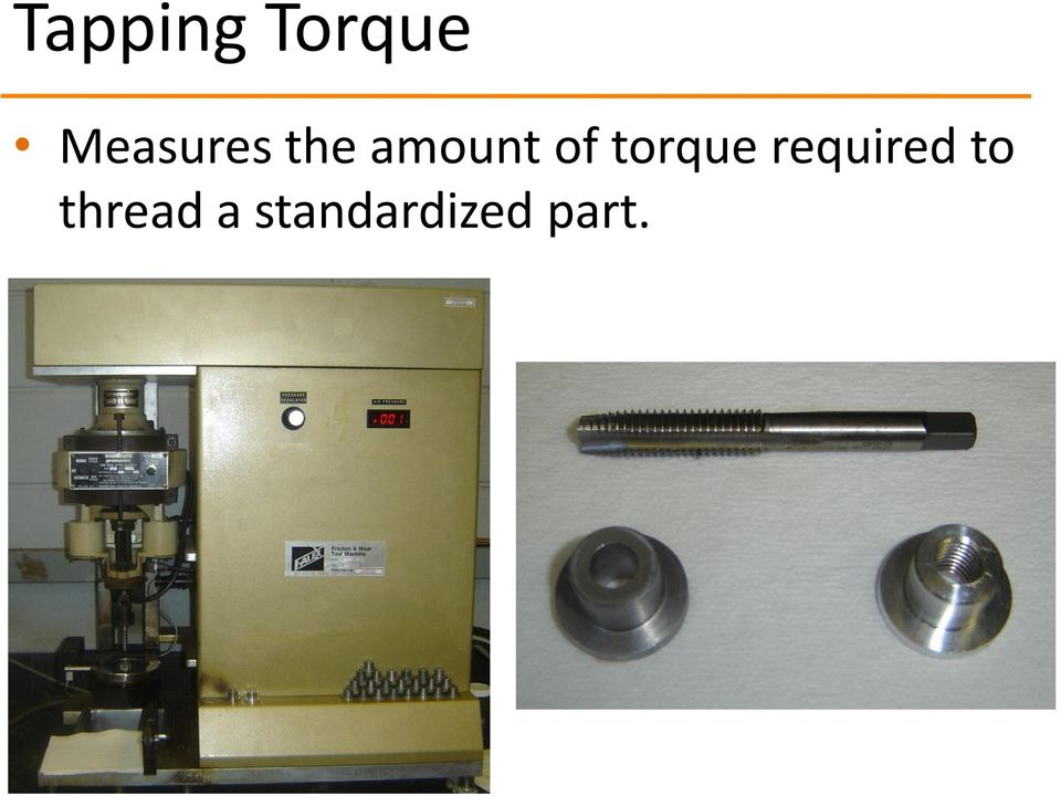 of torque required