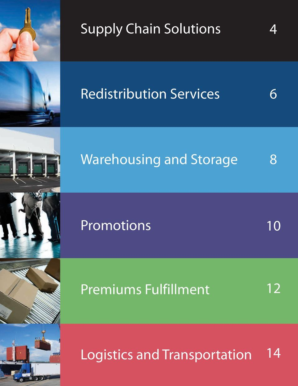 Warehousing and Storage 8 Promotions