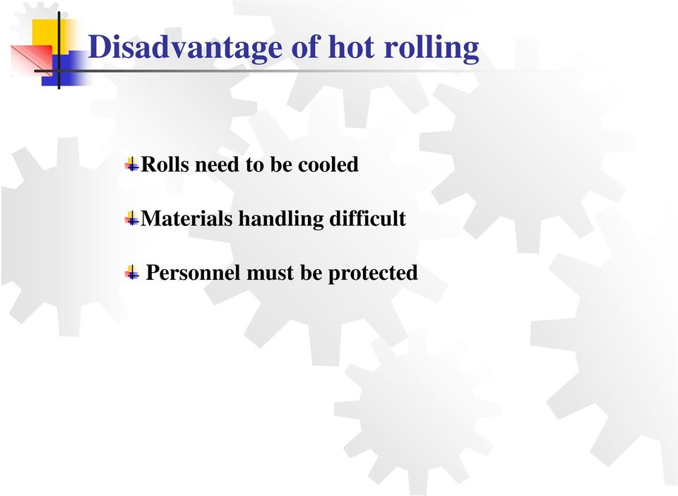 cooled Materials handling