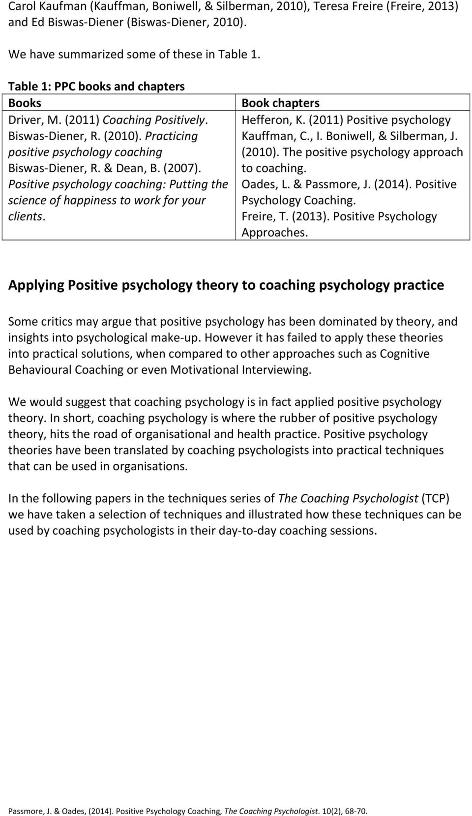 psychological approaches to health practice