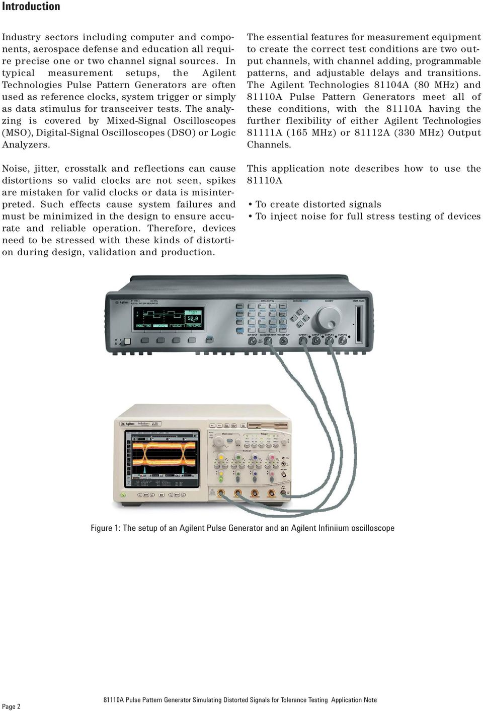 The analyzing is covered by Mixed-Signal Oscilloscopes (MSO), Digital-Signal Oscilloscopes (DSO) or Logic Analyzers.