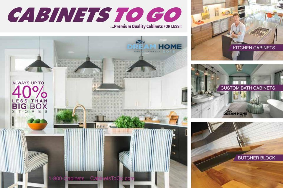 2 Great Deals On High Quality Cabinets At Cabinets To Go! Our Designers  Will Help You Plan Your New Kitchen Or Bath Upgrade With Confidence That  Your ...