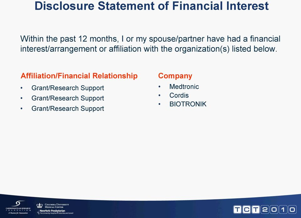 organization(s) listed below.