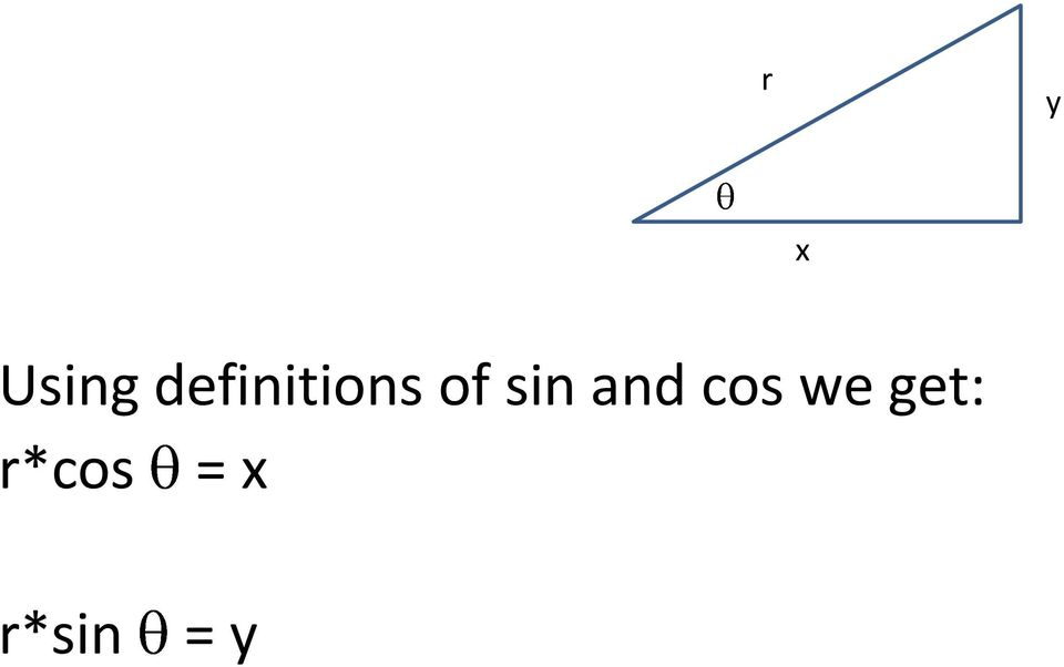 sin and cos we