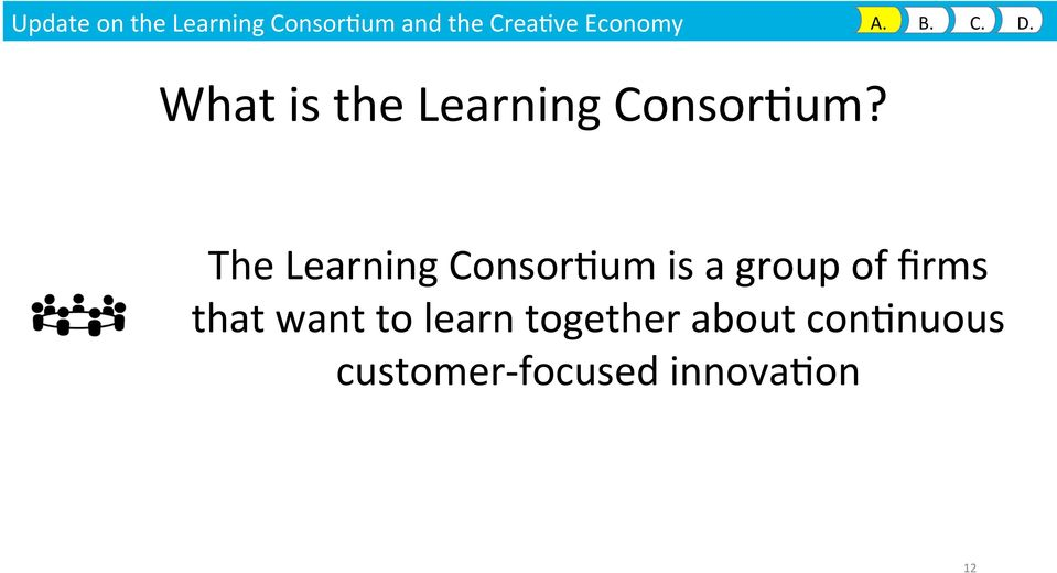 The Learning Consor9um is a group of firms that want