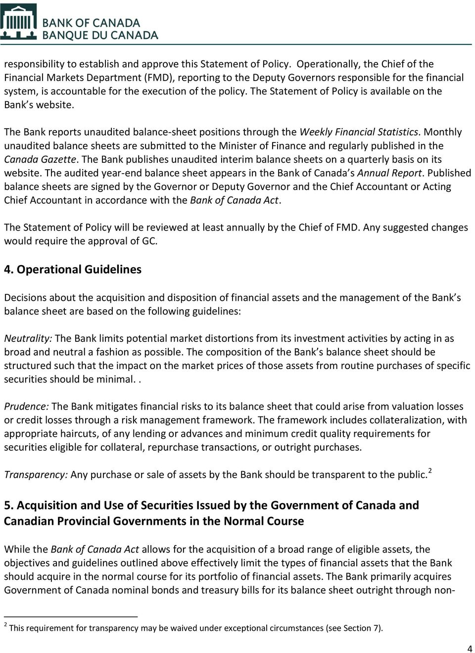 bank of canada act pdf