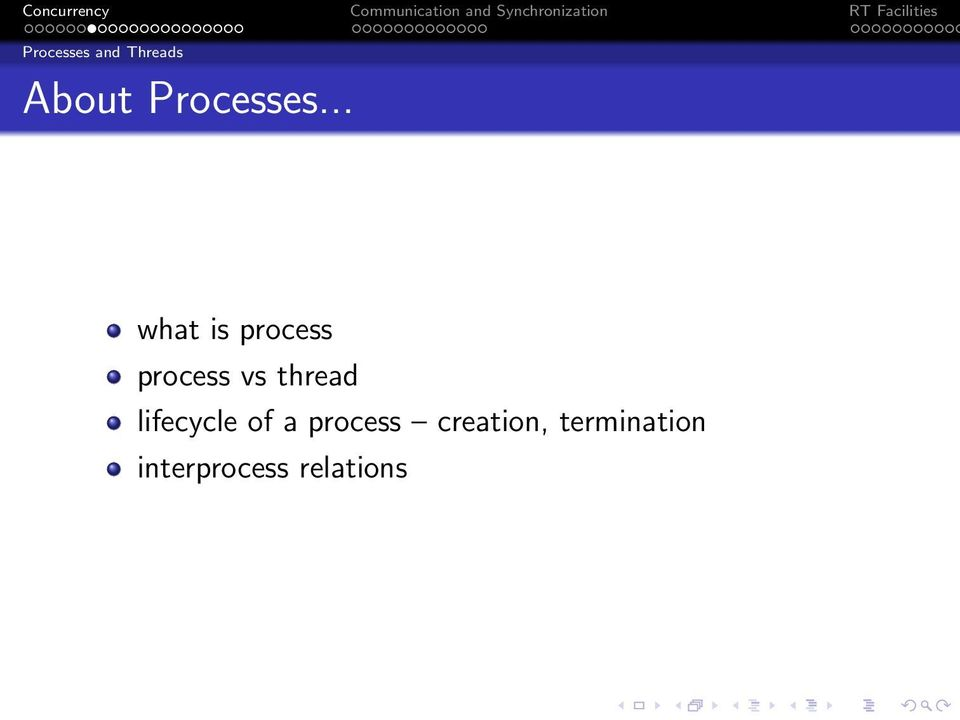 .. what is process process vs