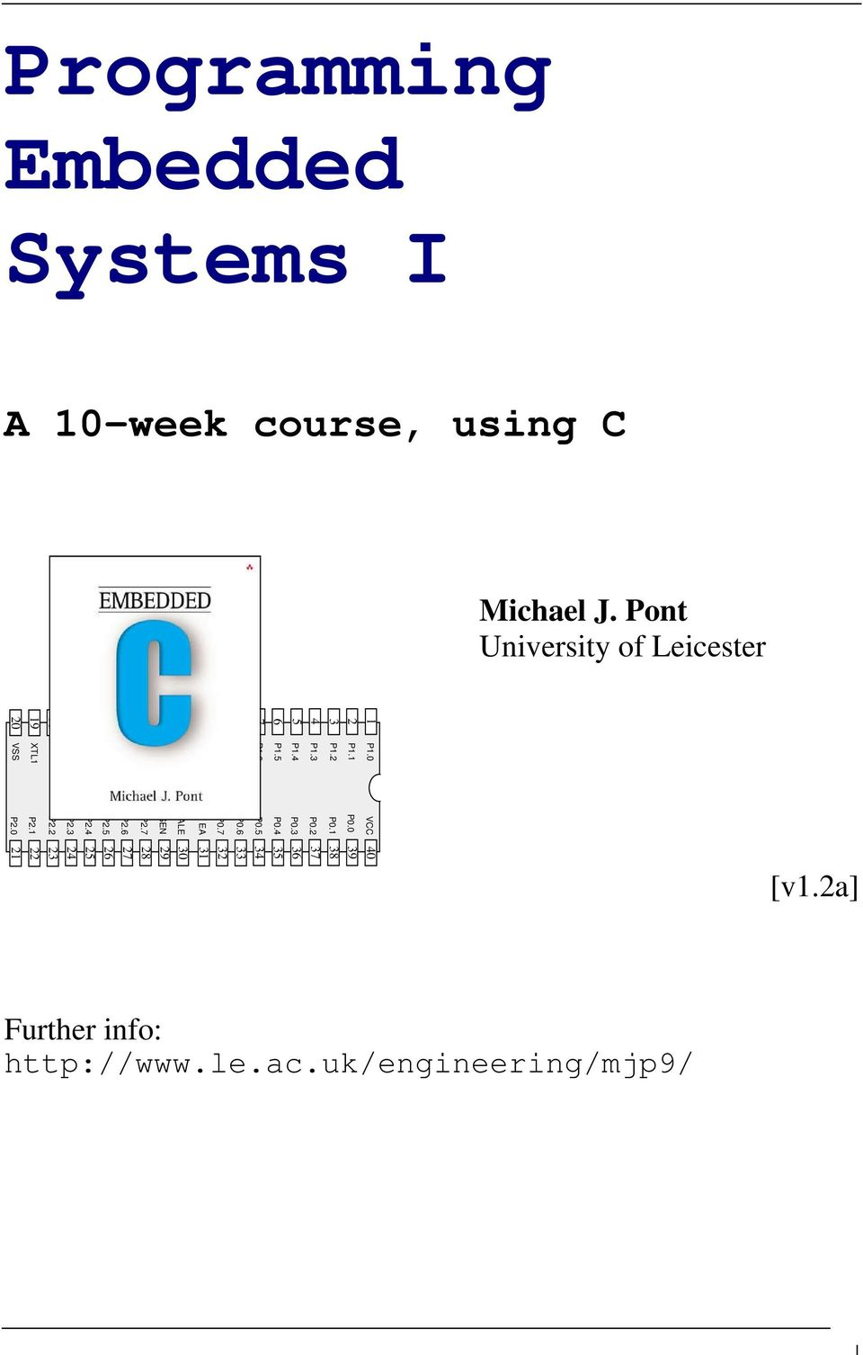 Programming Embedded Systems I Pdf Bs2p Microcontoller And A Gps Receiver Circuit 7 Rst P30 P31 P32 P33 P3