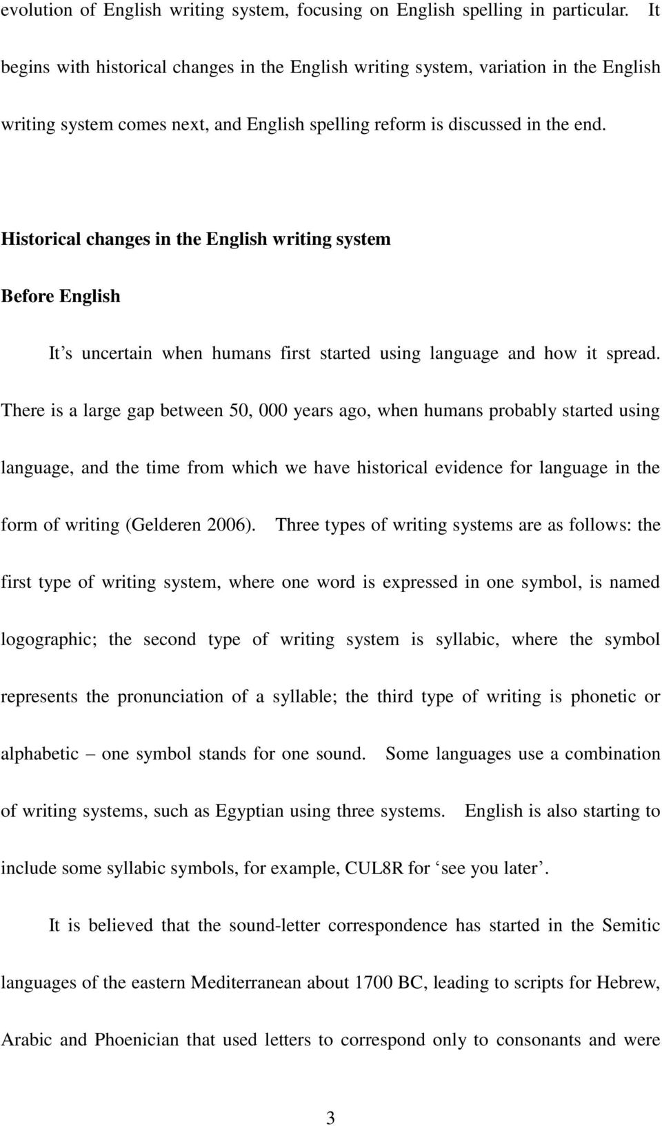 The Evolution Of English Writing System A Review Of Pdf