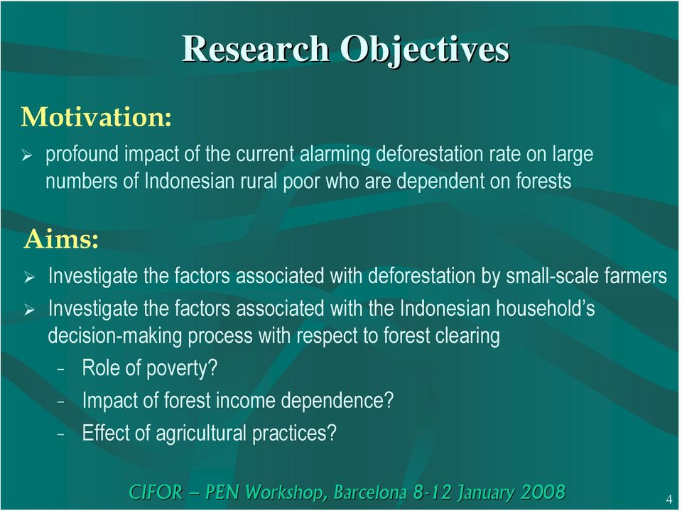 small-scale farmers Investigate the factors associated with the Indonesian household s decision-making process