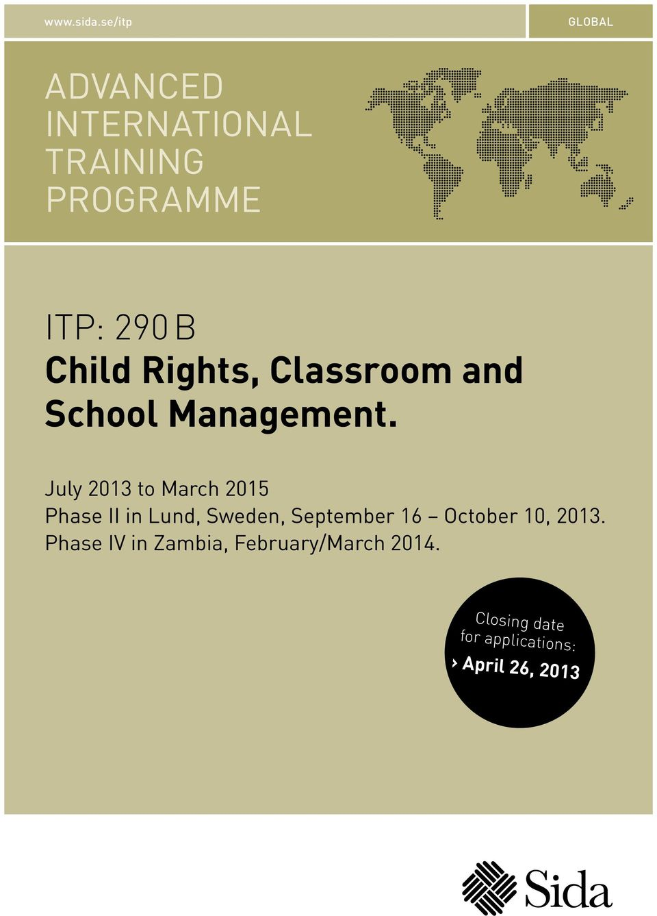 Rights, Classroom and School Management.