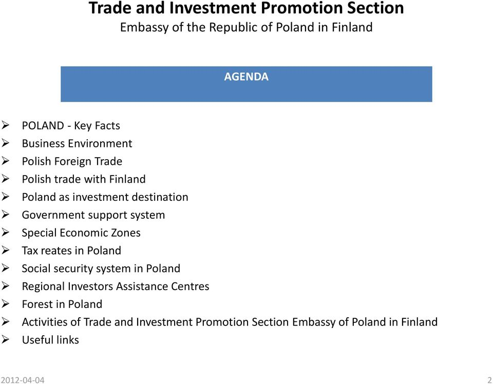 Poland Social security system in Poland Regional Investors Assistance Centres Forest in Poland