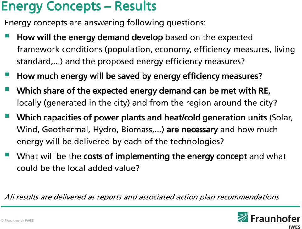 Which share of the expected energy demand can be met with RE, locally (generated in the city) and from the region around the city?