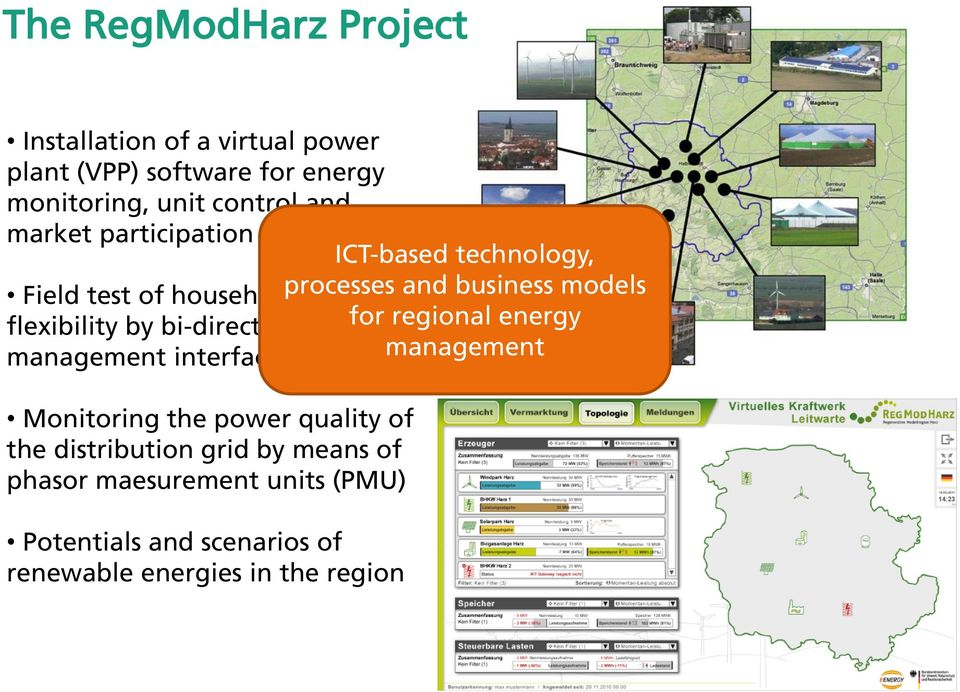 by bi-directional energy for regional energy management interfaces (BEMI) management Monitoring the power quality of