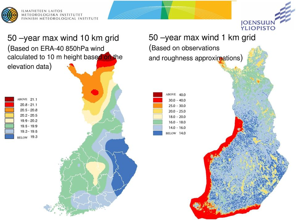 data) 50 year max wind 1 km grid (Based on