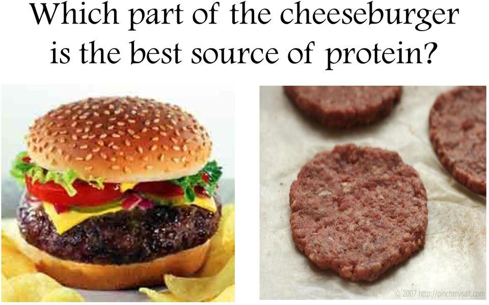 cheeseburger is