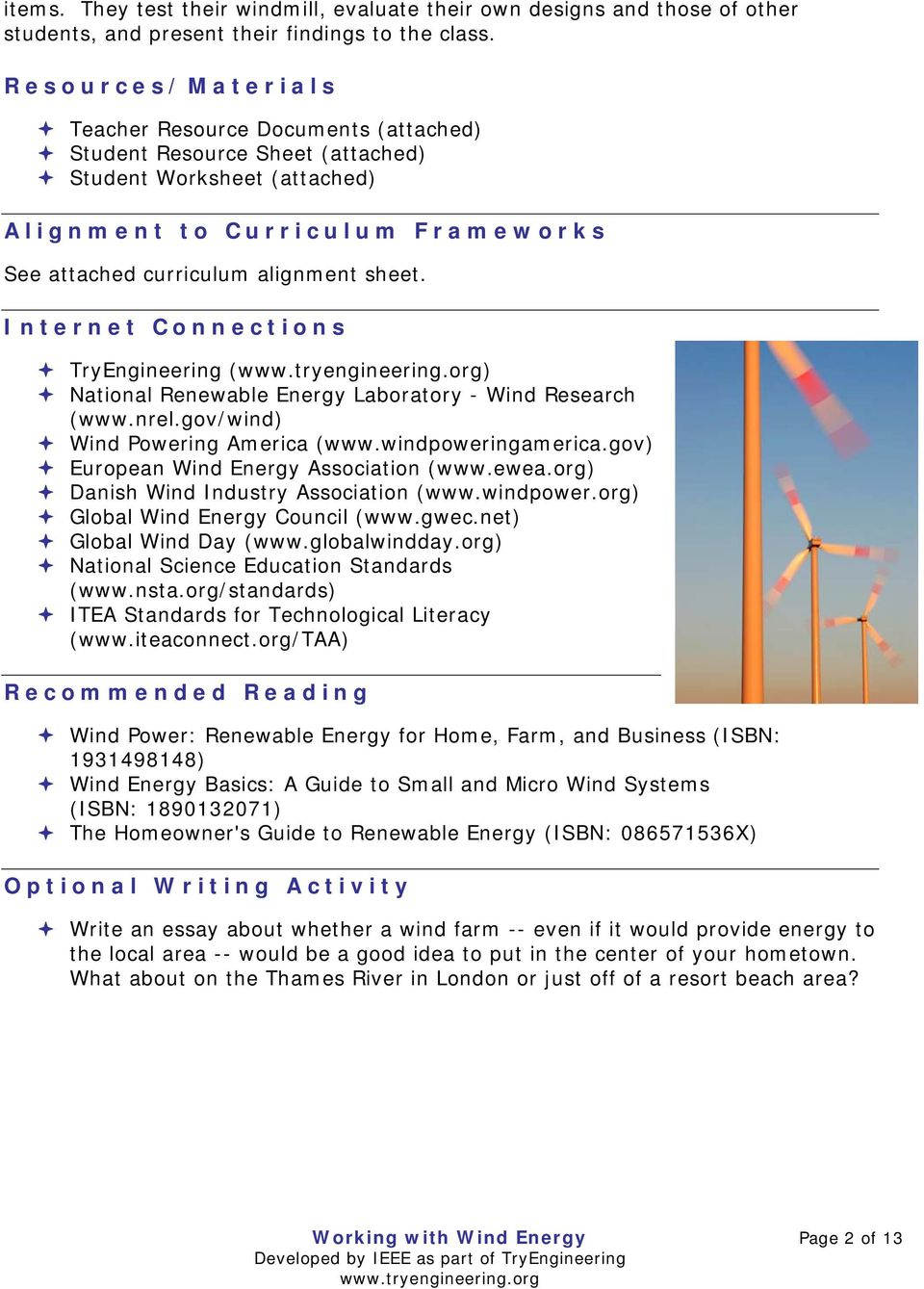 Compare And Contrast Essay Conclusion Internet Connections Tryengineering  National Renewable Energy Laboratory   Wind Research Wwwnrel College Entrance Essay Examples also Abortion Against Essay Working With Wind Energy  Pdf Private Schools Vs Public Schools Essay