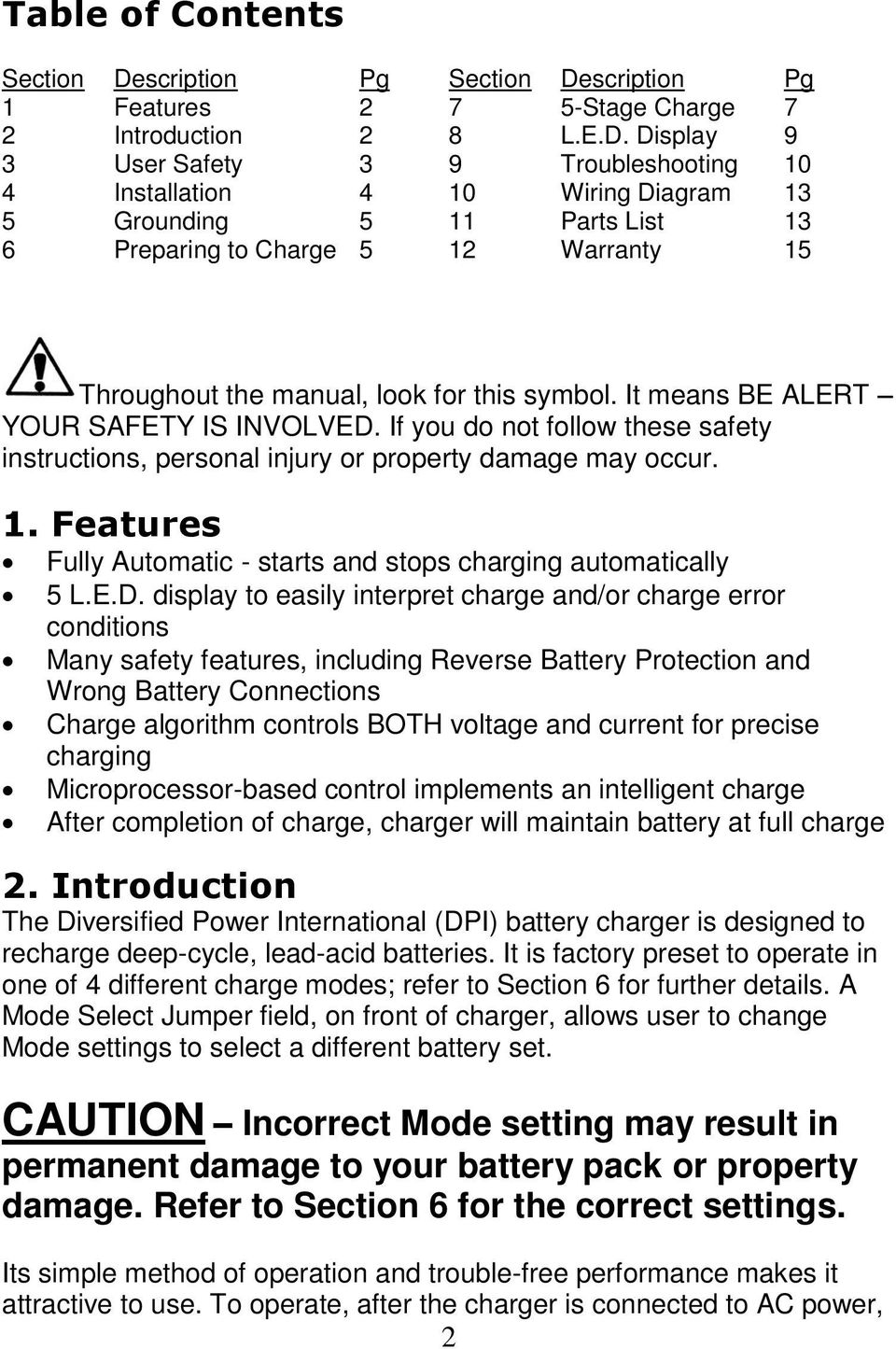 Accusense Battery Charger Wiring Diagram : Accusense charge series on off board fully automatic