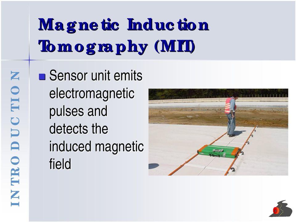 emits electromagnetic pulses