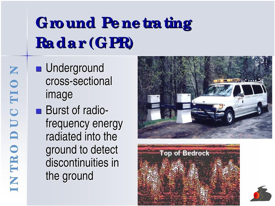 radio- frequency energy radiated into the