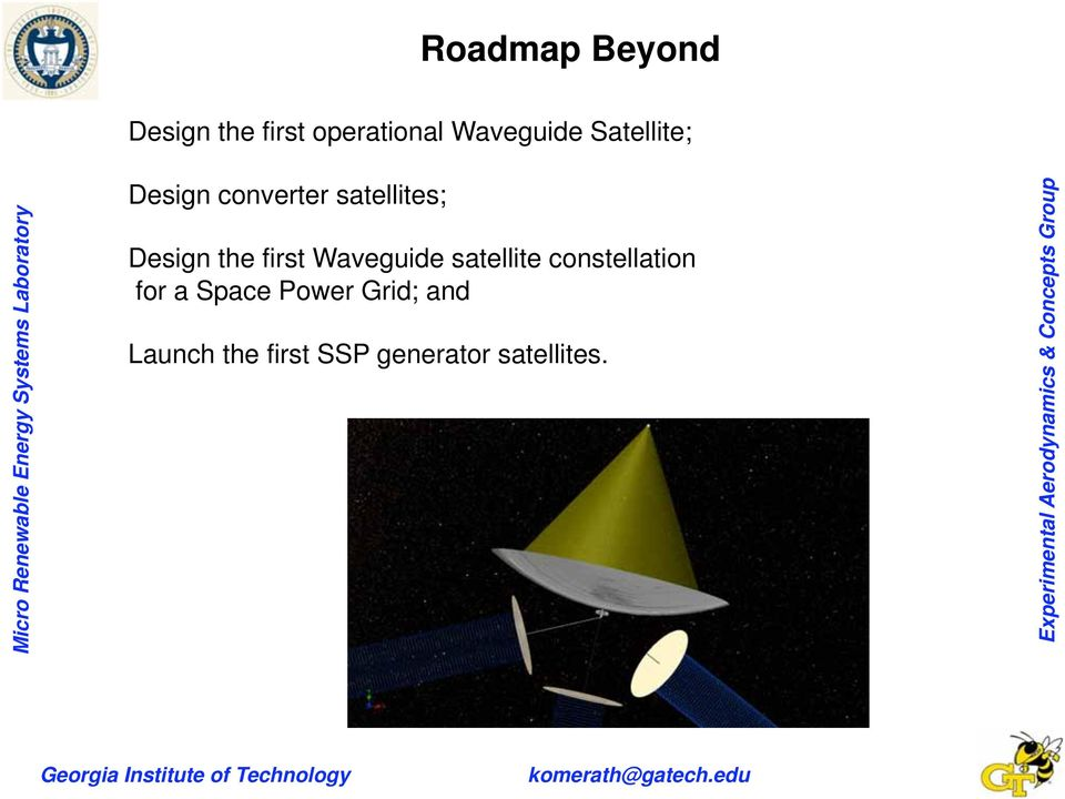 first Waveguide satellite constellation for a Space