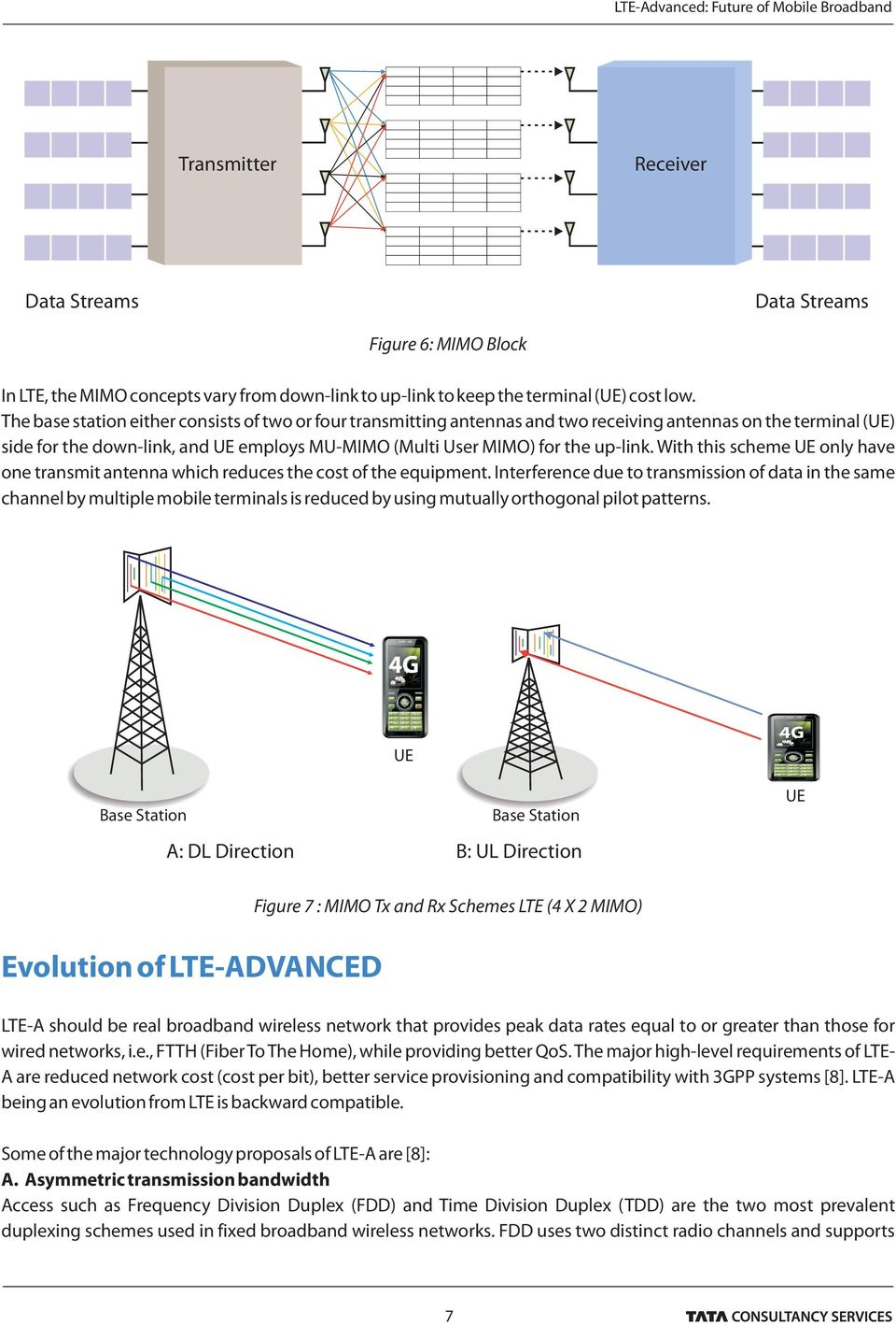 With this scheme UE only have one transmit antenna which reduces the cost of the equipment.