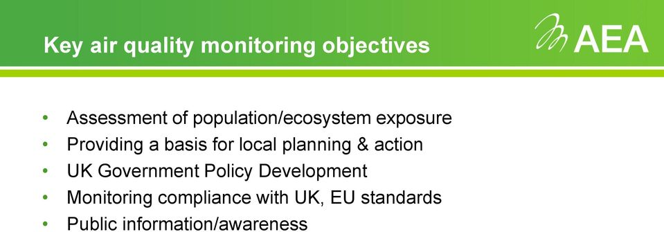 planning & action UK Government Policy Development
