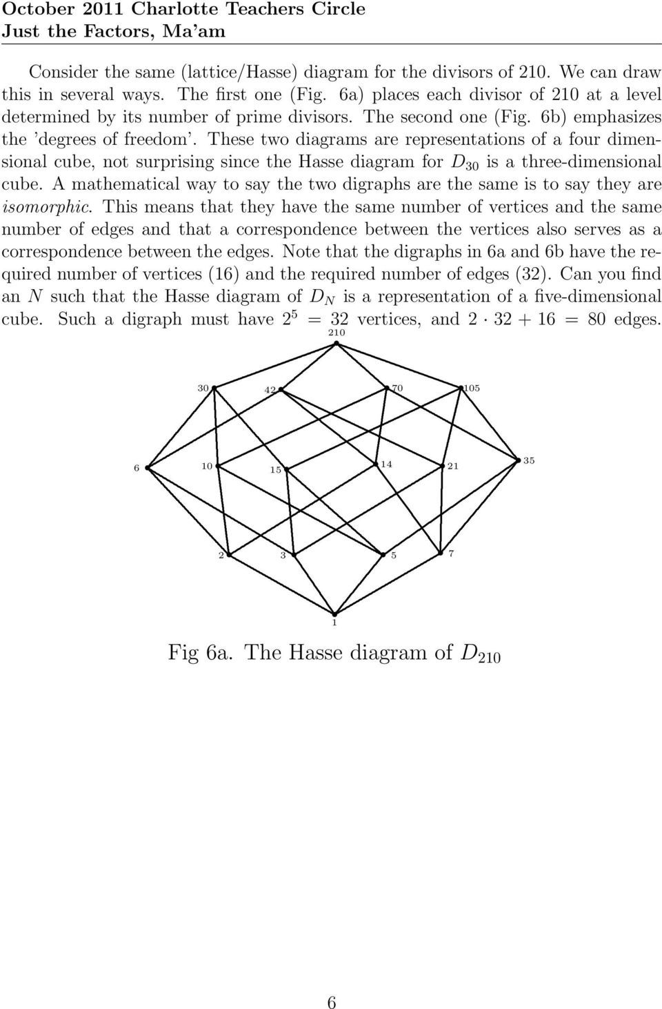 three-dimensional cube A mathematical way to say the two digraphs are the same is to say they are isomorphic This means that they have the same number of vertices and the same number of edges and
