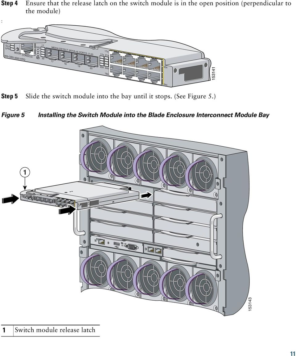 Cisco Catalyst Blade Switch 3000 Series for HP Getting Started Guide ...